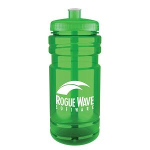 20 Oz. Surf Bottle w/ Low Profile Push Pull Lid
