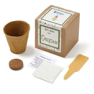 Oregano Planter in Kraft Gift Box w/Seeds