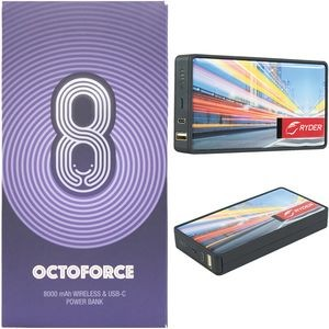 Octoforce 2.0™ 8000mAh Wireless Power Bank