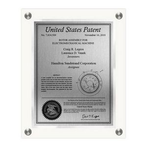 Celebrity Patent Plaque - Large