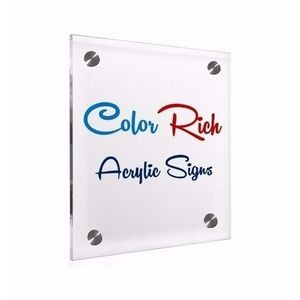 Premium Color Rich Acrylic Signage 2